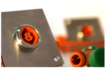 thermocouple sensor system for high-voltage applications